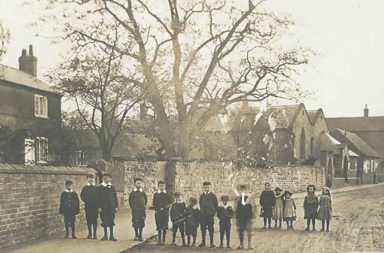Cropwell Butler Victorian School Chlidren