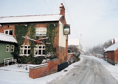 The Plough Inn at Winter