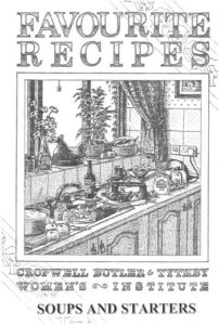 Soups & Starters | WI Recipe Book