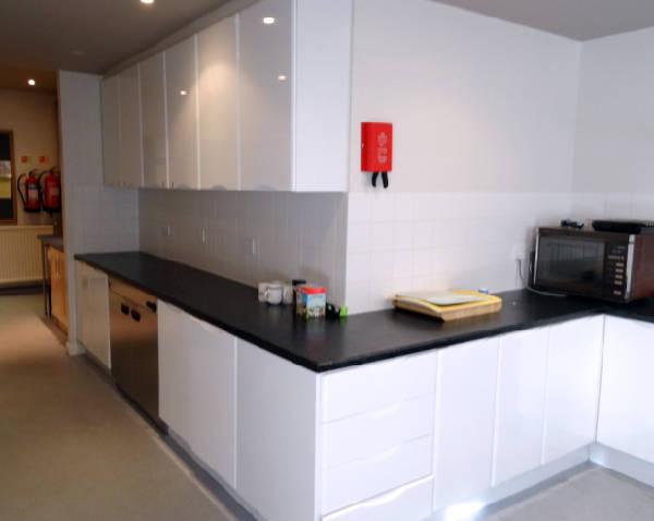 Kitchen corner view